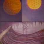 Freezing Process, 2002, oil on canvas, 200 x 150 cm (3 pcs)