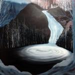 The Spring Of Lethe (Ameles Potamos), oil on canvas, 140 x 190 cm