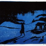 Twilight of an Idol, 2013, litho on paper no. 1/8, 25 x 35 cm - SOLD