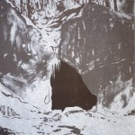 The Cave, offset lithograpy on paper