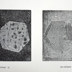 Polyhedrae, 2013, etching on paper no. 1/3, 20 x 27 cm - sell price € 450
