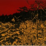 Wormwood, offset lithograpy on paper