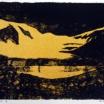 A Sulphurous Dawn, 2013, litho on paper no. 1/8, 25 x 35 cm - sell price € 550