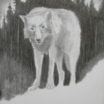 Of Wolf and Man, 2013, pencil on paper, 20 x 15 cm - sell price € 600