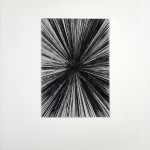 Kaos I, 2014, drypoint on paper, 26 x 20 cm - sell price € 300