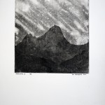 Transylvania II, 2012, etching on paper no. 3/9, 40 x 30 cm - sell price € 650