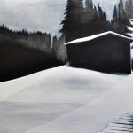 As the Shadows Rise, , oil on canvas, 140 x 190 cm