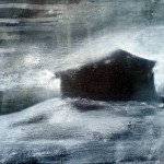 Gaahl's Cabin, 2010, oil on canvas, 24 x 30 cm