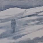 Moonshine, oil on canvas, 24 x 30 cm