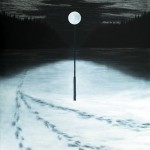 Into the Starless Night, 2010, oil on canvas, 150 x 140 cm